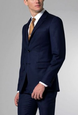 Angelo Rossi Navy Blue Suit