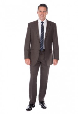 Angelo Rossi Steel Grey Suit