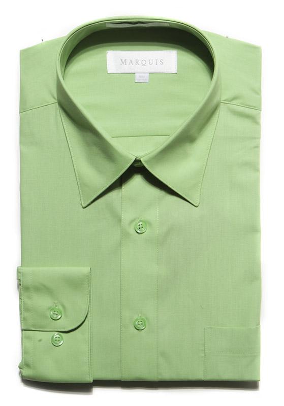 Apple Green Dress Shirt Top Hat Tuxedo