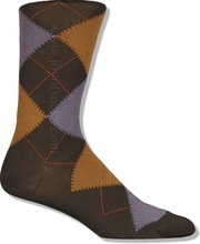 Brown Cotton Argyle