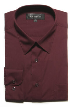 Burgunday Dress Shirt