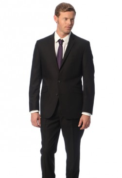 Caravelli Black Slim Fit Suit