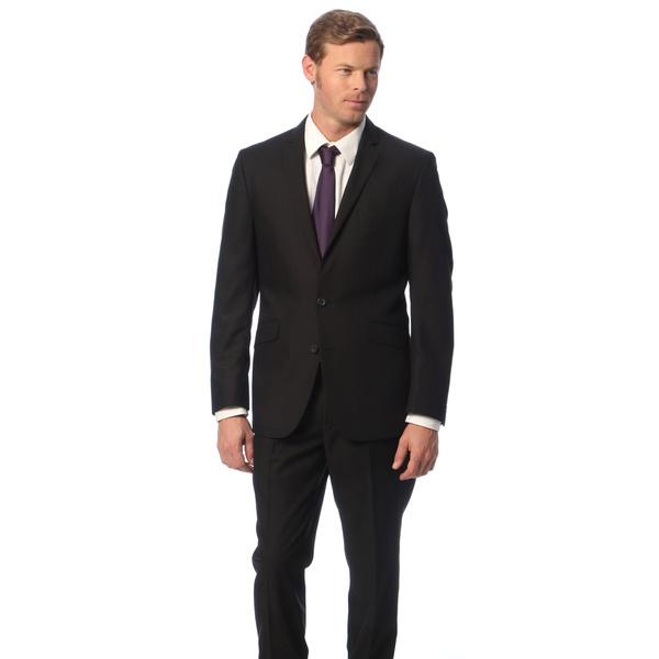 Caravelli Black Slim Fit Suit Top Hat Tuxedo