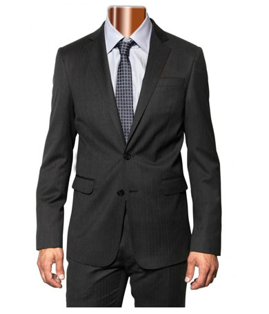 Caravelli Charcoal Slim Fit Suit