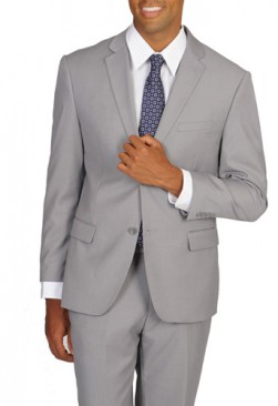 Caravelli Light Grey Slim Fit Suit