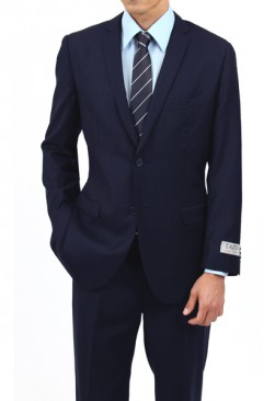 Caravelli Navy Slim Fit Suit