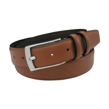 Cognac Dress Belt