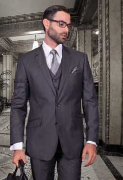 Fiorelli Medium Grey Vested Suit