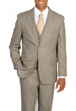 Fiorelli Tan Vested Suit