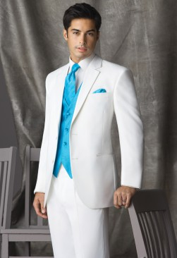 Perry Ellis White Groove