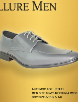 Steel Grey Allure Dress Shoes